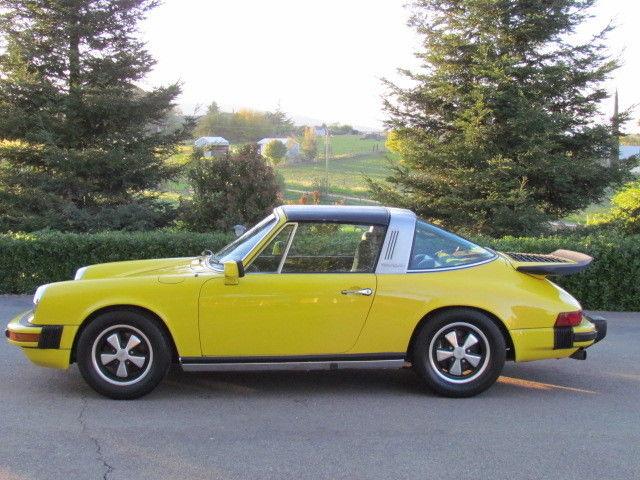 9117210466 1977 Porsche 911s Targa With Rare 1976 930 Turbo Carrera Motor Runs Great