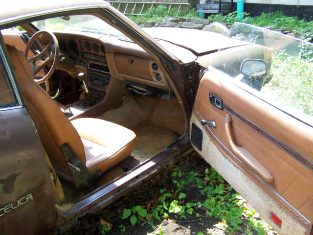 Ra29051837 1977 Toyota Celica Gt Liftback 5sp For Parts Or Restoration