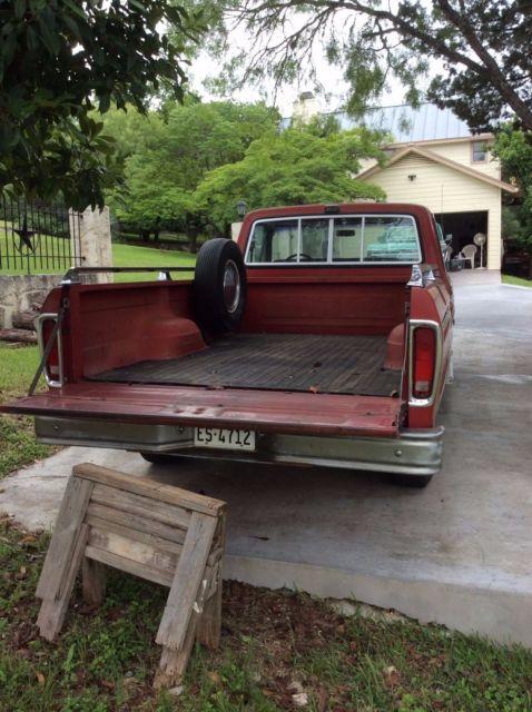 715HCBG9932 1978 Ford F150 Ranger long bed