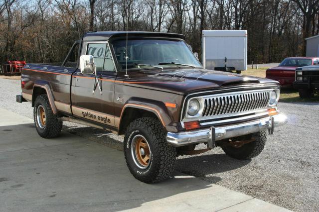 1978 jeep j10 golden eagle pickup