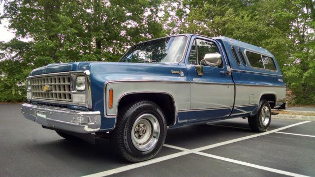 1980 Chevrolet Silverado Big 10 Trailering Special Truck 1 Owner