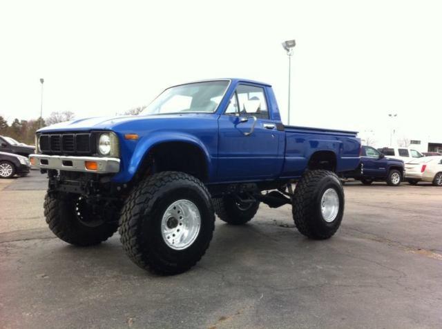 1980 sr5 toyota custom 4wd truck v8 350 sb chevy frame off
