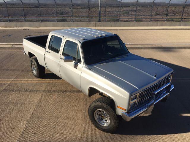 1GCHK33W7BZ110220 - 1981 Chevrolet Crewcab shortbed ls swap