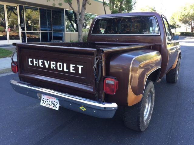 chevy stepside truck 1983