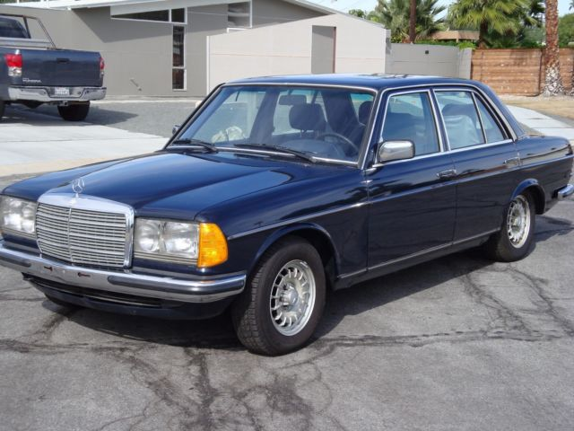 Wdbab33a5db035291 1983 Mercedes 280e European Model Abs