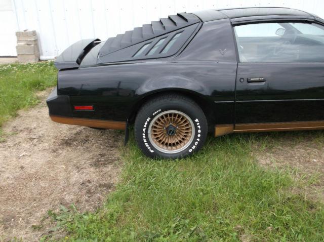 Pontiac Trans Am Recaro Edition True Surviver From Original Estate