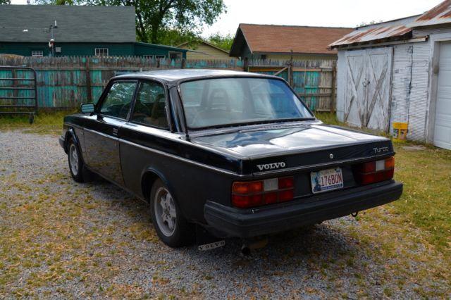 yv1ax4729d2227142 1983 volvo 240 2 door turbo 5 speed. Black Bedroom Furniture Sets. Home Design Ideas