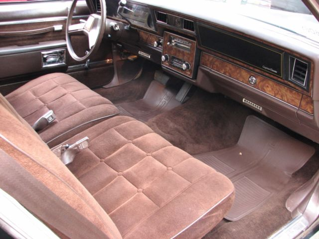 1984 chevrolet caprice classic 2 door coupe 49 000 original miles mint interior 1g1an47h1eh130010 used cars for sale from usa