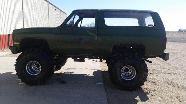 ccd68641fc 1G8ED18J5EF103913 - 1984 Chevy D10 K10 CUCV Blazer