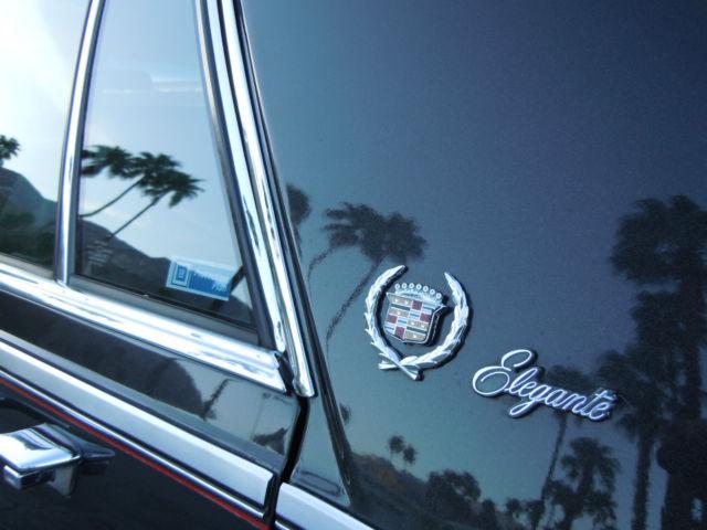 1g6ks6984fe835046 1985 Cadillac Seville Elegante