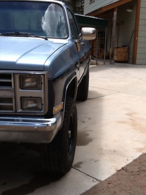 1GCGK24M3FJ150608 - 1985 chevy C20 pickup truck 454 3/4 ton 4x4