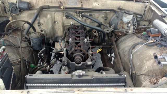 1985 toyota pickup 4x4 front axle