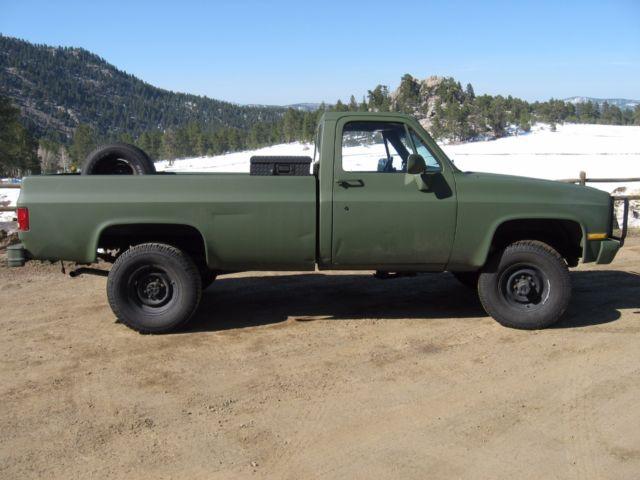 1gcgd34j2gf397791 1986 Chevrolet M1008 Truck K30 Cucv