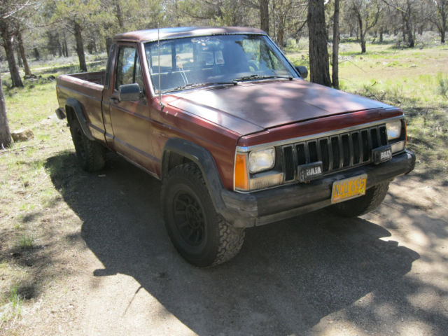 1jtwl6515gt095460 1986 Jeep Comanche Mj 4x4 5spd V6 28 Long Bed