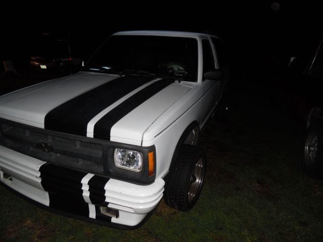 1GNCT18Z1M8190001 - 1991 CHEVY S10 BLAZER 2DOOR 4X4 4 3L V6