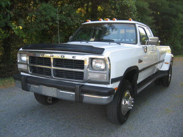 Jeeps For Sale In Va >> 3B7MM33C4NM563540 - 1992 DODGE 5.9 CUMMINS 4X4 DIESEL W350 ...