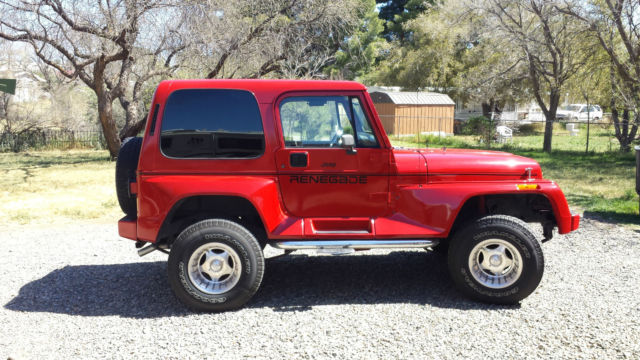 1j4fy69s4pp201793 1993 jeep wrangler renegade yj. Cars Review. Best American Auto & Cars Review