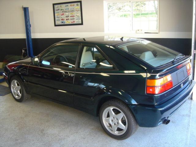 Wvwee4501pk005469 1993 Volkswagen Corrado Slc Vr6 Green