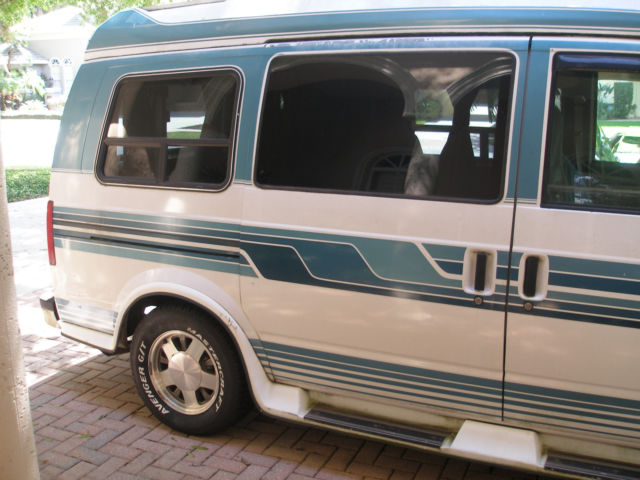 Chevy Astro Lt Hightop Extended Imperial Conversion Van