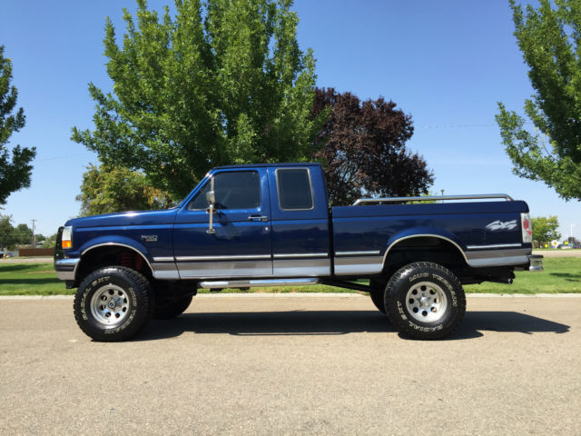 1ftex14n7ska72866 1995 ford f 150 xlt 4x4 super cab short box manual with only actual miles. Black Bedroom Furniture Sets. Home Design Ideas