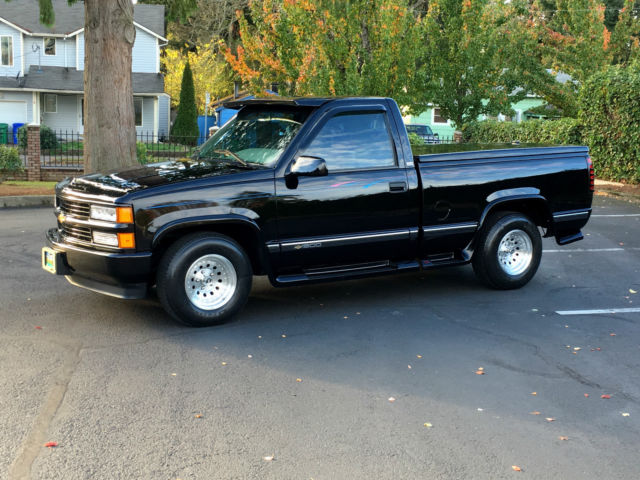256343 1996 Chevy 1500 2wd Short Bed Reg Cab 57l V8 350 All Orig Only 10k Actual Mileson 5 7 350 Vortec Engine