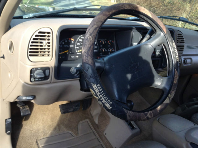 2gcek19r8t1100587 1996 Chevy Silverado K1500 Extended Cab 4x4 Rust Free Southern Step Side Truck