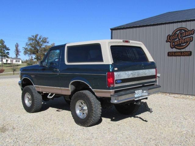 1fmeu15n9tlb84292 1996 Ford Bronco 4x4 Eddie Bauer