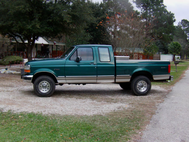 1ftex14h7tka09665 - 1996 Ford F-150 Eddie Bauer Extended ...
