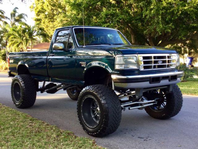 1994 Ford F250 >> 1fthf36fxved19561 - 1997 F350 4x4 7.3 151k Show Truck 1996