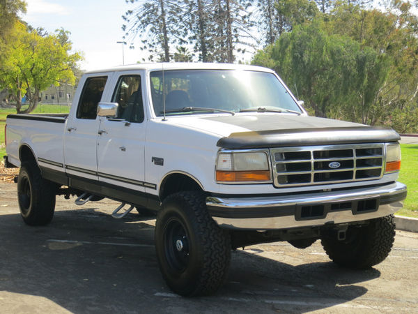 1ftjw36f3vea15750 1997 ford f 350 4x4 crew cab pickup 4 door 7 3l diesel powerstroke lifted. Black Bedroom Furniture Sets. Home Design Ideas
