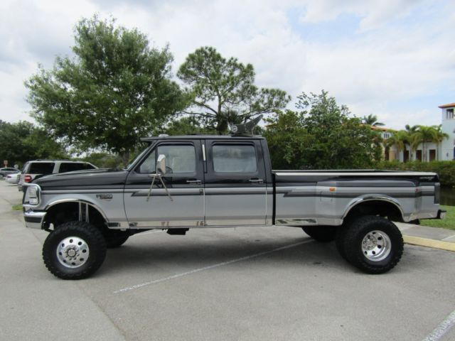 Used Ford F350 Dually Wheels >> 1ftjw36fxvea36823 - 1997 Ford F350 Powerstroke Diesel 4x4 7.3 Dually OBS Low Miles Centaurus Clean!