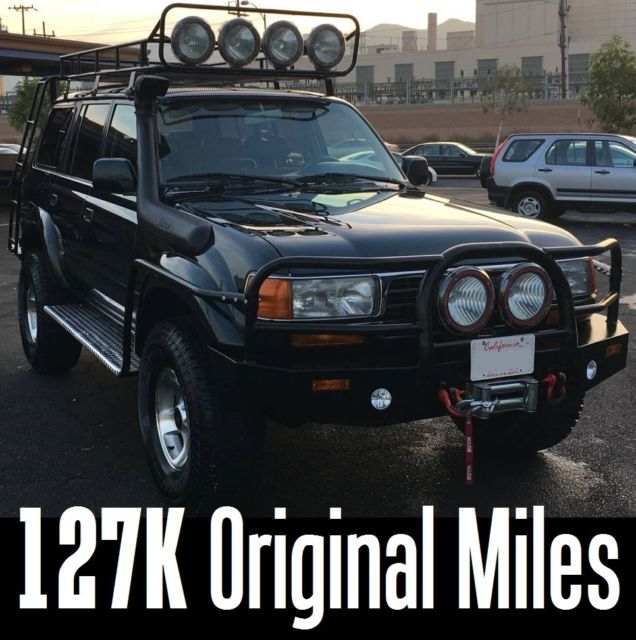 Jt3hj85j3v0152415 1997 Fzj80 Toyota Land Cruiser With