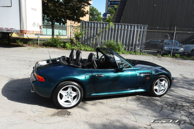 Wbsck9336wlc85372 1998 Bmw Z3m Boston Green Metallic
