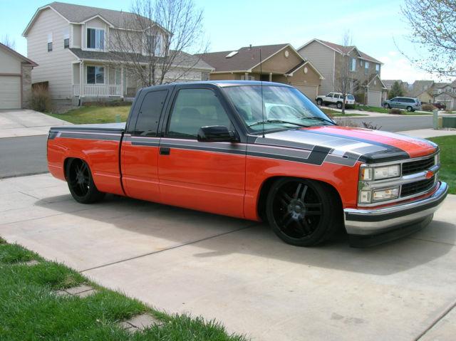 "Cold Air Intake For Chevy Silverado 1500 >> 2gcec19m5w1217212 - 1998 Chevy c1500 Silverado Truck Custom Paint Air Ride Bagged 20/22"" NO RESERVE!"
