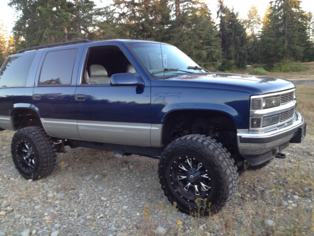 1gnek13r4wj333473 1998 Chevy Tahoe Lifted