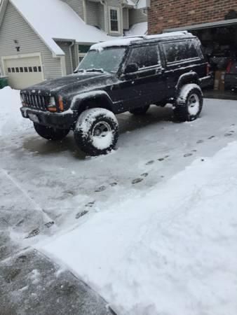 Jeep Cherokee 2 Door Lifted