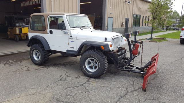 Jeep Bimini Top >> 1J4FY19S7WP723500 - 1998 Jeep Wrangler w/ Snowplow