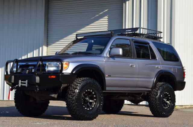 Toyota Tacoma Lifted >> JT3HN86RXW0136478 - 1998 TOYOTA 4RUNNER 4X4 SR5 MANUAL LIFTED BUILT TACOMA JEEP TRD SUV RESERVE RARE