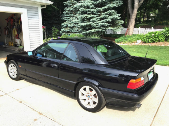 Wbabj8337xem23856 1999 Bmw 323i Convertible 1 Owner Very Low Miles With Hardtop Quad Blk