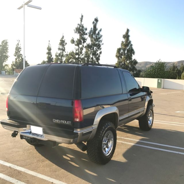 Blue Book Values For Used Cars: 1999 Chevrolet Tahoe 2 Door Diesel 4x4
