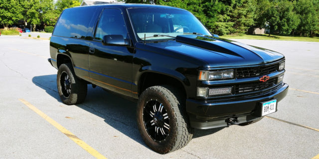 Used Tires Des Moines >> 3GNEK18R6XG160907 - 1999 CHEVY 2 DOOR TAHOE, 4X4, LIFTED ...