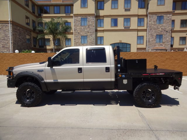 Used F 250 Super Duty >> 1FTNW21F4XEC13811 - 1999 Ford SuperDuty F-250 XLT Crew Cab Flatbed 4x4 7.3L Powerstroke Turbo Diesel