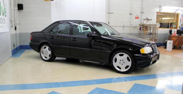 Wdbha33e7xf768413 1999 mercedes benz c class amg v8 for Mercedes benz c class 1999 for sale