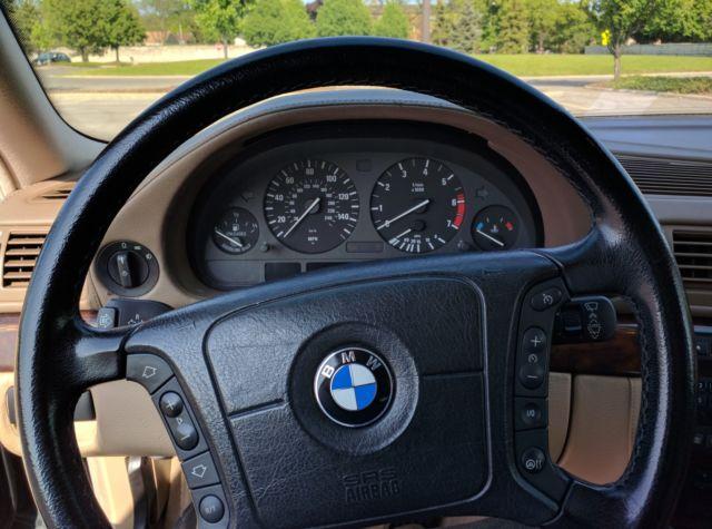 WBAGJ03411DD74444 - 2001 BMW 750IL V12 E38 Black/Tan ...
