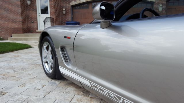 Custom Color Well Maintained: 2001 Corvette Convertible Color Pewter