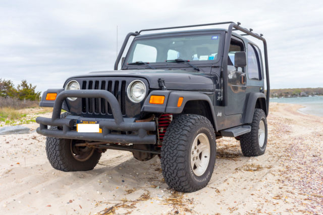 1J4FA49S41P344808   2001 Jeep Wrangler Both Tops (Hard Top, Soft Top) Auto,  A/C, Lifted