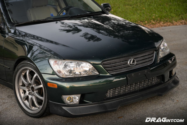 JTHBD182910018991 - 2001 Lexus IS300 1JZGTE VVTI Singe Turbo