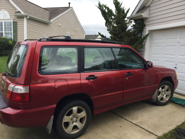 2001 subaru forester s wagon 4 door 2 5l red fair condition good interior jf1sf65621h728287 2001 subaru forester s wagon 4 door 2 5l red fair condition good interior jf1sf65621h728287