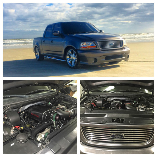 2002 Ford F 150: 2002 F150 Harley Davidson Supercharged