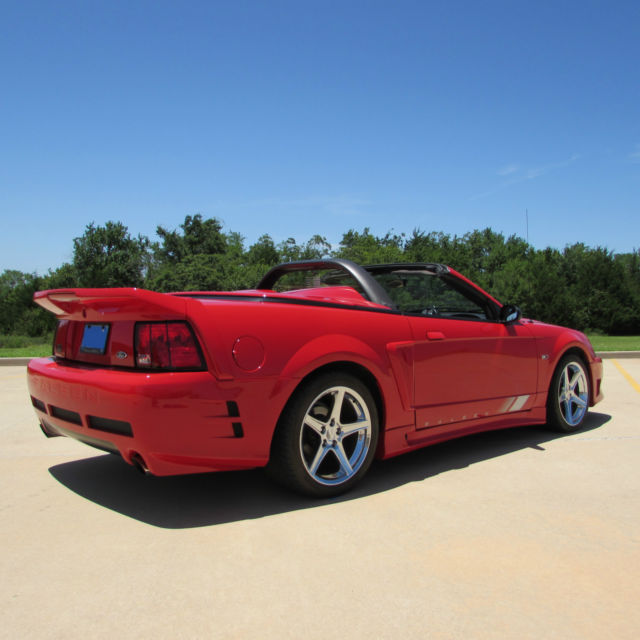 Supercharged Mustang Tires: 2002 Ford Mustang Saleen S281 SC